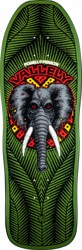 Powell Peralta Mike Vallely Elephant 10.0 Skateboard Deck - green