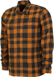 Levi's Work L/S Shirt - gibbon heather medium
