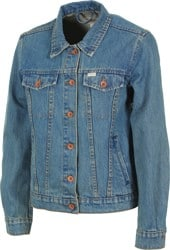 Brixton Women's Broadway Jacket - worn indigo
