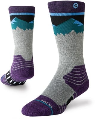 Stance Kids Merino Wool Snowboard Socks - ridge line - view large