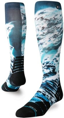 Stance Performance Blend Michael Kagan Collection Snowboard Socks - blue yonder - view large