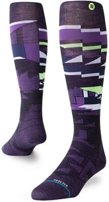 Stance Ultralight Merino Wool Snowboard Socks - crtl alt dlt - view large