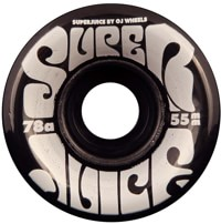 OJ Mini Super Juice Cruiser Skateboard Wheels - trans black (78a)