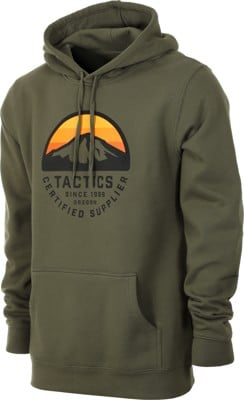 Tactics Bachelor Hoodie - army - view large