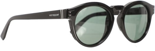 Von Zipper Ditty Sunglasses - black gloss/vintage grey lens - view large