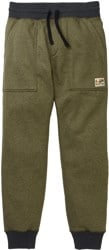 Burton Oak Fleece Pant - keef heather