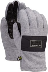Burton Ember Fleece Gloves - gray heather