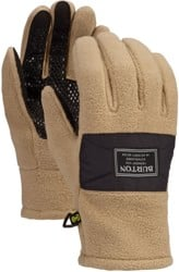 Burton Ember Fleece Gloves - timber wolf