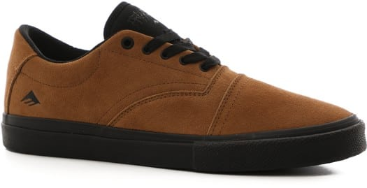 Emerica The Provider G6 Plus Skate Shoes - tan/black - view large
