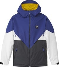 Adidas Premiere Riding Jacket - active blue/carbon/cream white/white