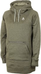 Burton Women's Oak Long Pullover Hoodie - keef heather