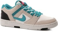Nike SB Air Force II Skate Shoes - (miami nights) white/teal nebula-black-pink flash