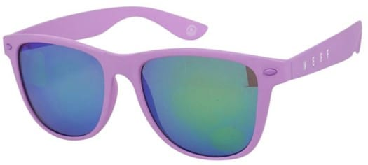 Neff Daily Sunglasses - violet rubber - view large