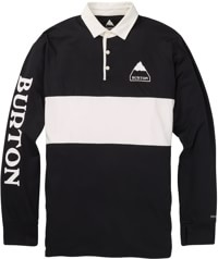 Burton Midweight Rugby Shirt - true black
