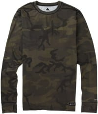 Burton Midweight Base Layer Crew - worn camo