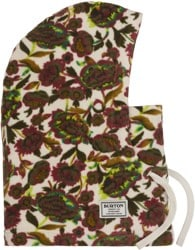 Burton Burke Hood Face Mask (Closeout) - white floral
