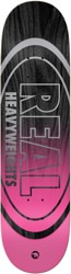 Real Heavyweights Construction 8.5 Skateboard Deck - black/pink