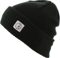Polar Skate Co. Double Fold Merino Beanie - dark green