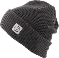 Polar Skate Co. Double Fold Merino Beanie - heather grey