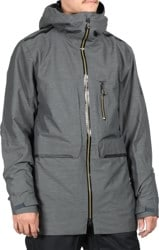 686 Eclipse Jacket - charcoal heather
