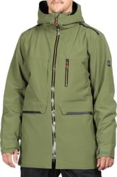 686 Eclipse Jacket - surplus green