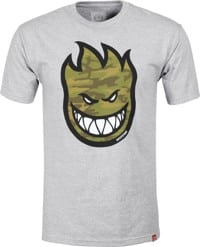 Spitfire Bighead Fill T-Shirt - athletic heather/camo