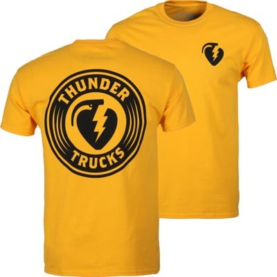 Thunder Trucks Charged Grenade T-Shirt - gold/black - view large