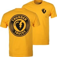 Thunder Trucks Charged Grenade T-Shirt - gold/black