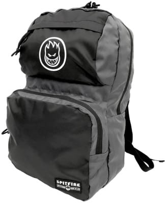 Spitfire Bighead Circle Packable Backpack - black/charcoal - view large