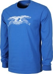Anti-Hero Basic Eagle L/S T-Shirt - royal/white