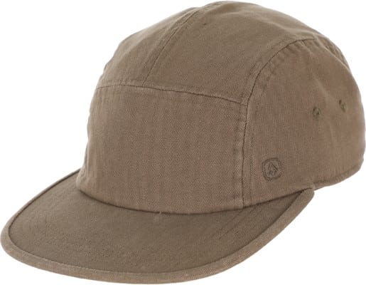 Coal Edison 5-Panel Hat - olive - view large