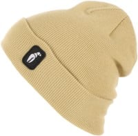 Crab Grab Tall Claw Beanie - khaki