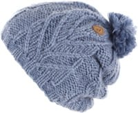Volcom Leaf Beanie - washed blue