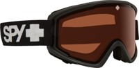 Spy Crusher Jr. Kids Goggles - matte black/persimmon lens