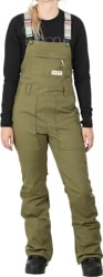 Burton Avalon Bib Pants - martini olive