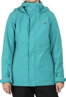 Burton Jet Set Insulated Jacket - green-blue space dye - view large