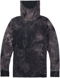 Burton Midweight Long Neck - marble galaxy print