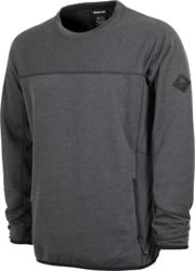 Burton Minturn Fleece Crew - true black heather