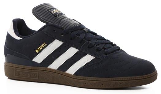 Adidas Busenitz Pro Skate Shoes - collegiate navy/footwear white/gum5 - view large