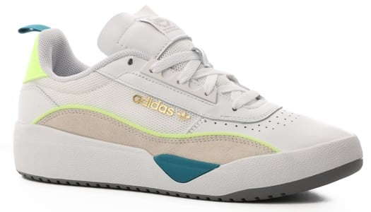 Adidas Liberty Cup Skate Shoes - footwear white/chalk white/hi-res yellow - view large
