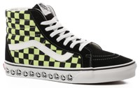 Vans Sk8-Hi Reissue Skate Shoes - (vans bmx) black/sharp green