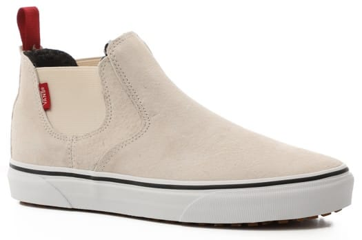Vans Women's Slip-On Mid MTE Shoes - (mary rand) turtledove/true white - view large