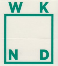WKND Logo Sticker - jade
