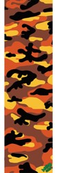 MOB GRIP Camo Graphic Skateboard Grip Tape - orange