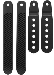 Burton Double Take Ankle Tongue Slider Replacement Set - black
