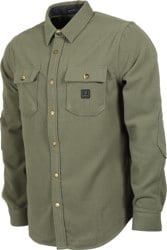 Roark Nordsman Flannel Shirt - military