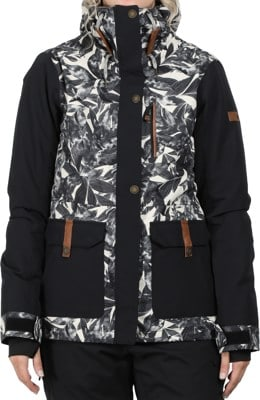 Roxy Andie Insulated Jacket - hawaiian palm leaf - view large