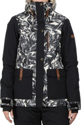 Roxy Andie Insulated Jacket - hawaiian palm leaf