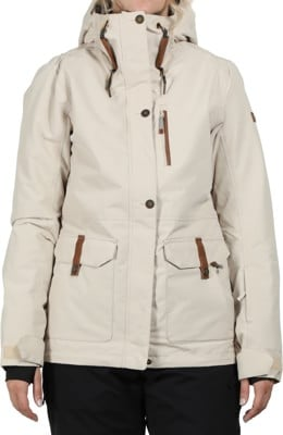 Roxy Andie Insulated Jacket - oyster gray - view large