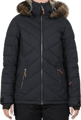 Roxy Quinn Insulated Jacket - true black - view large